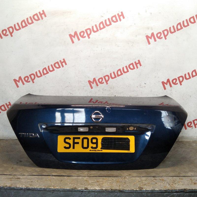 Крышка багажника Nissan Tiida C11 2009 (б/у)