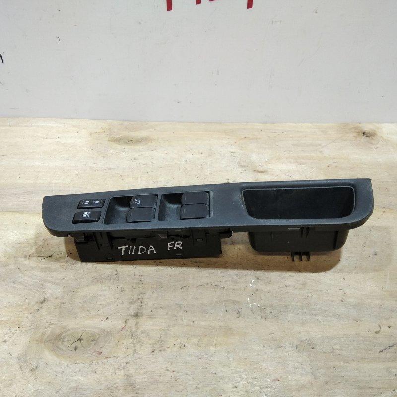 Блок управления стеклоподъемниками Nissan Tiida C11 2009 (б/у)