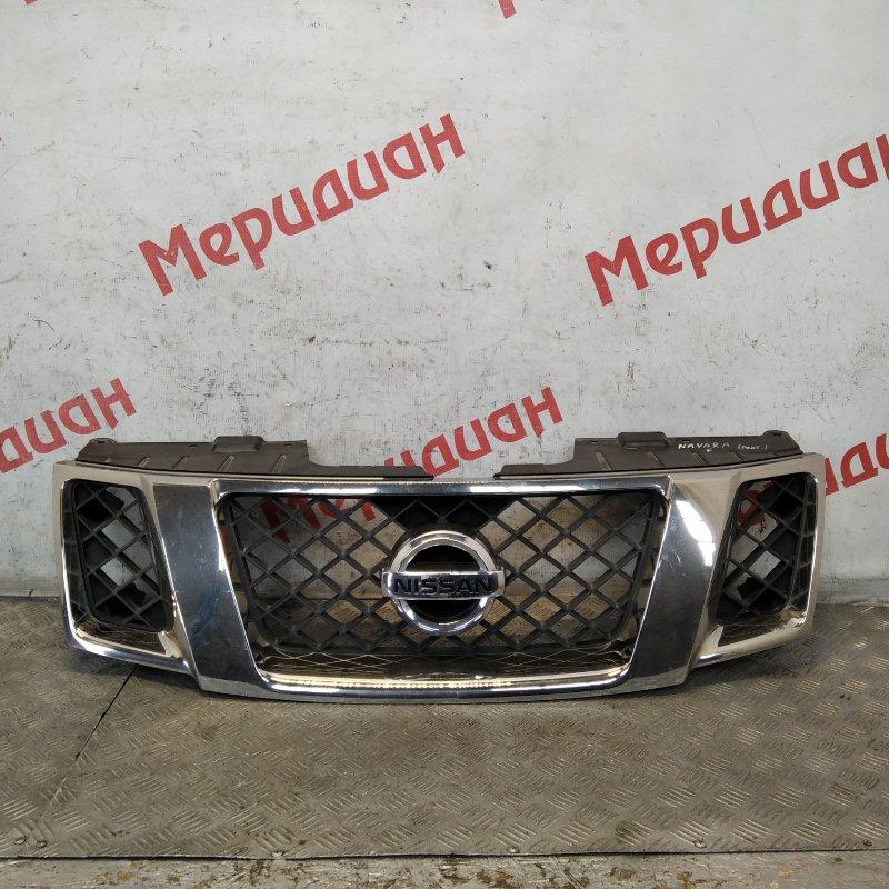 Решетка радиатора Nissan Navara D40 2011 (б/у)