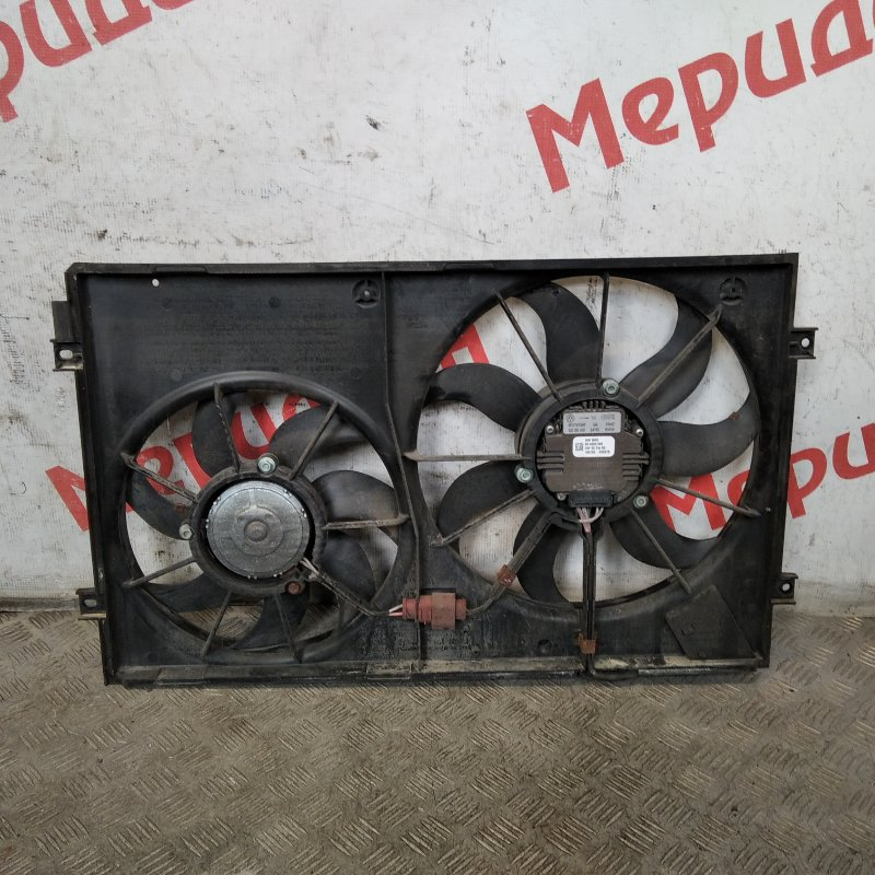 Вентилятор радиатора Volkswagen Passat B6 2007 (б/у)