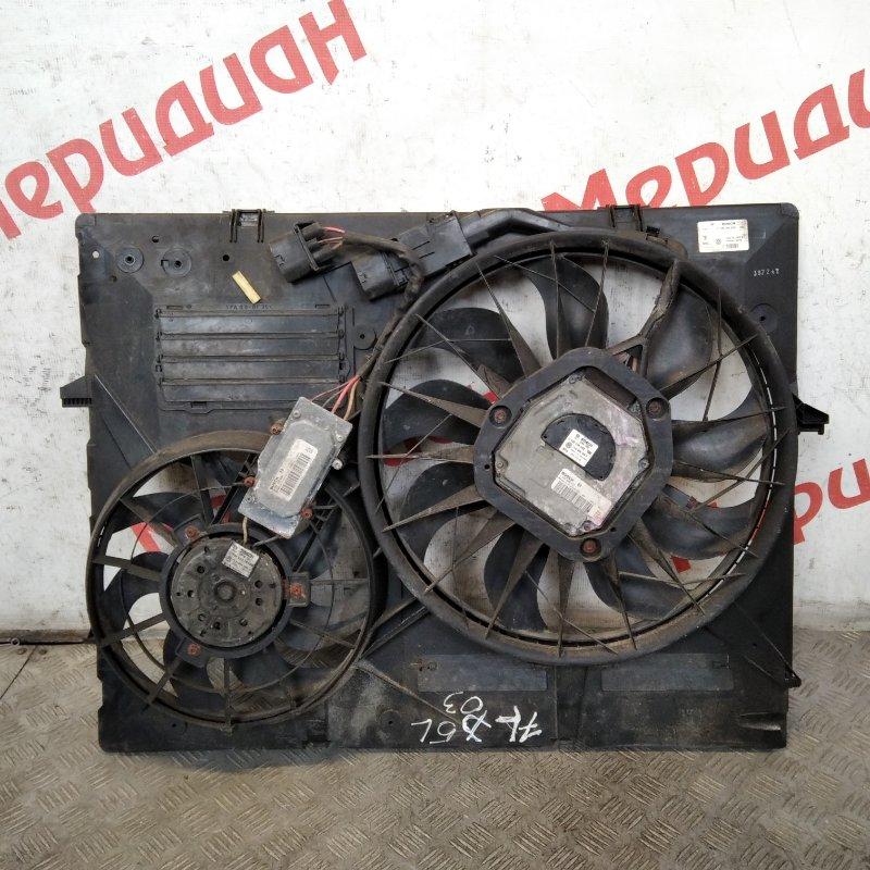 Вентилятор радиатора Volkswagen Touareg GP 2006 (б/у)