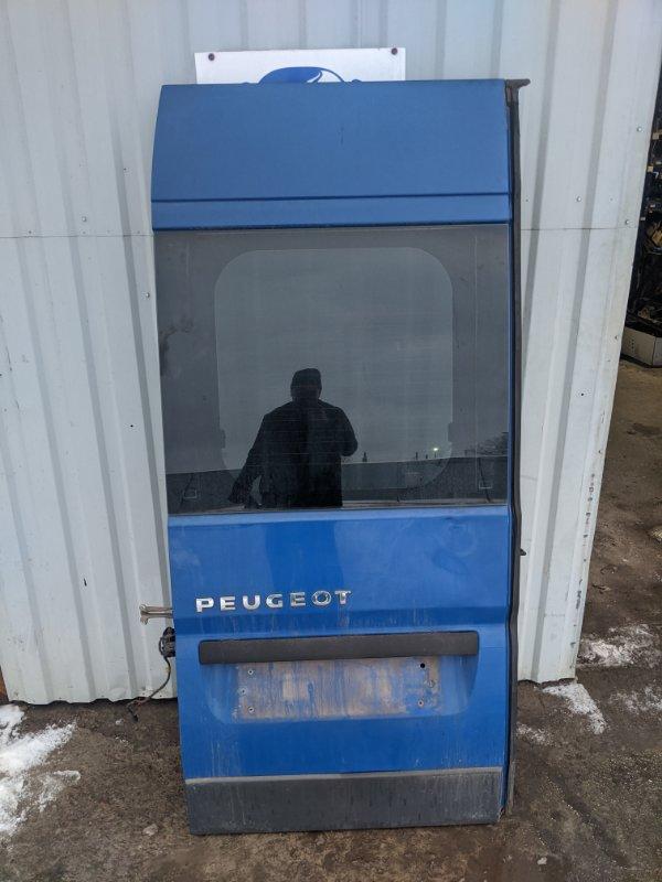 Дверь задняя левая Peugeot Boxer 250 2.2 2009 (б/у)