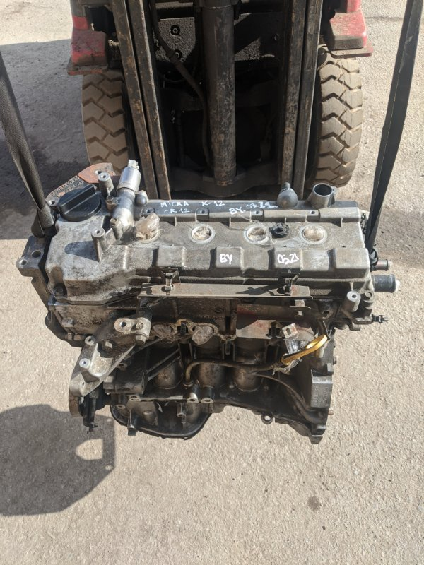 Двигатель cr12 Nissan Micra K12E 1.2 2006 (б/у)