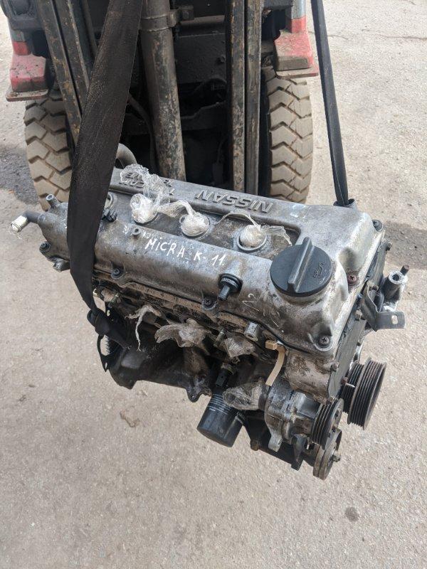 Двигатель cg10 Nissan Micra K11E 1.0 2001 (б/у)