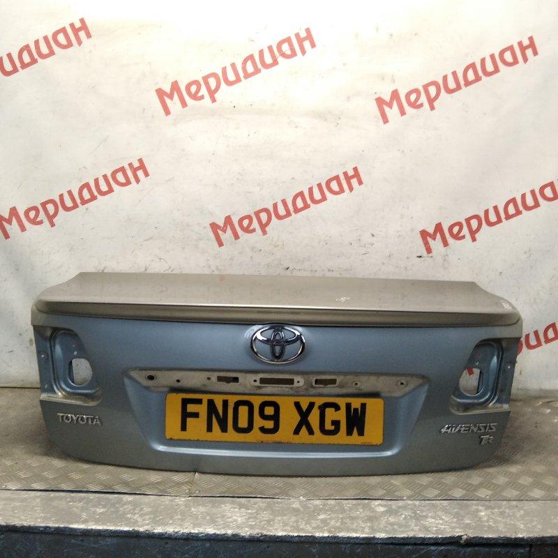 Крышка багажника Toyota Avensis III 2010 (б/у)