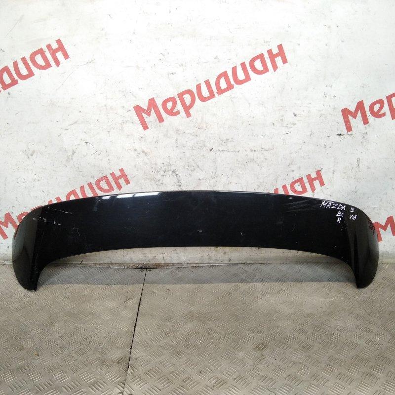 Спойлер (дефлектор) багажника Mazda 3 BL 2010 (б/у)