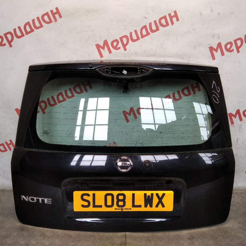 Дверь багажника Nissan Note E11 2008 (б/у)