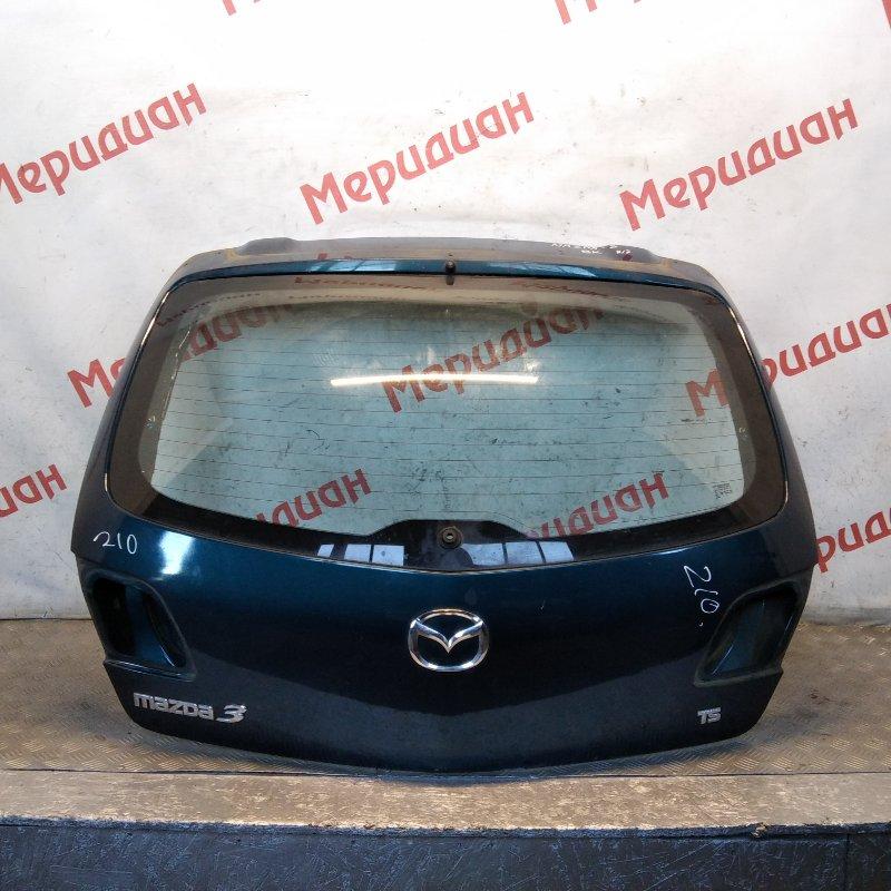 Дверь багажника Mazda 3 BK 2007 (б/у)
