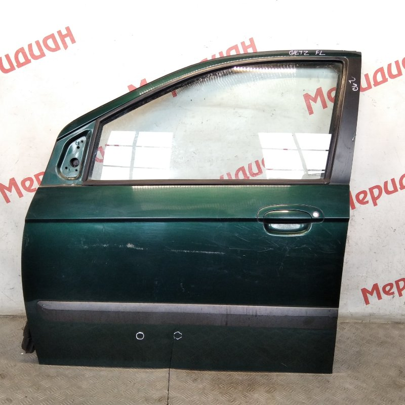 Дверь передняя левая Hyundai Getz 2008 (б/у)