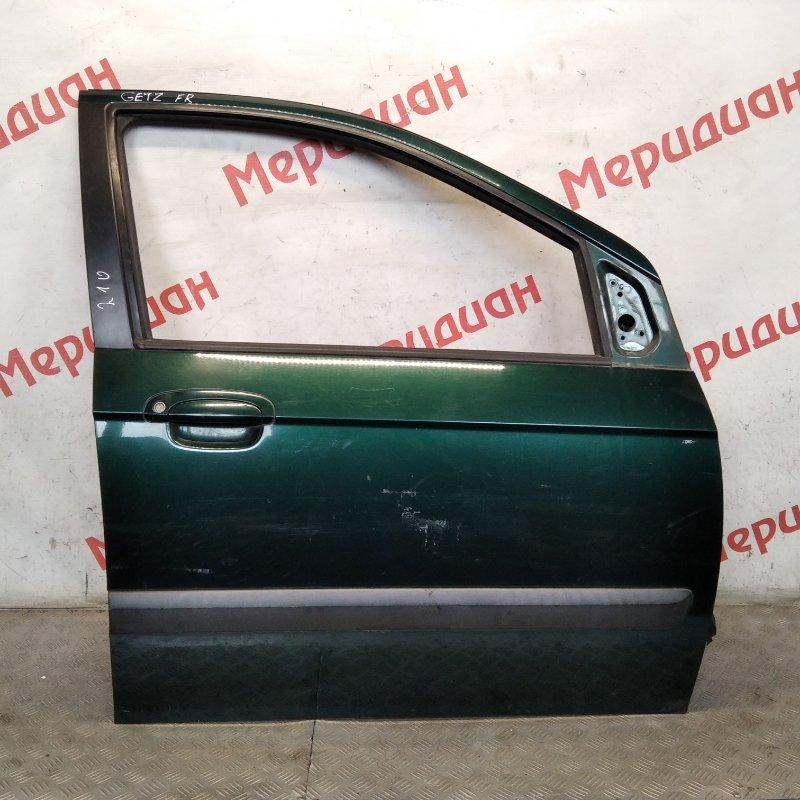 Дверь передняя правая Hyundai Getz 2008 (б/у)