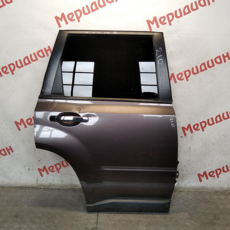 Дверь задняя правая Nissan X-Trail T31 2007 (б/у)