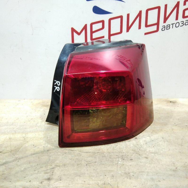 Фонарь задний наружный правый Peugeot 4007 2011 (б/у)