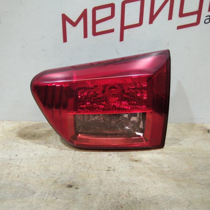 Фонарь задний внутренний правый Peugeot 4007 2011 (б/у)