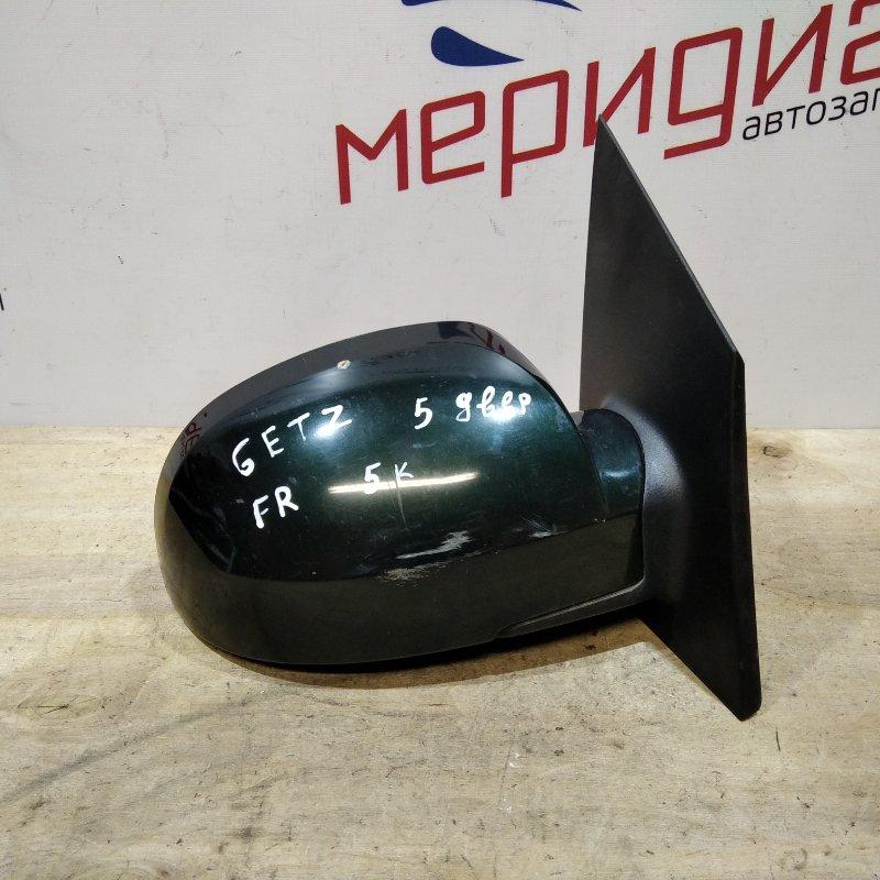 Зеркало правое электрическое Hyundai Getz 2007 (б/у)