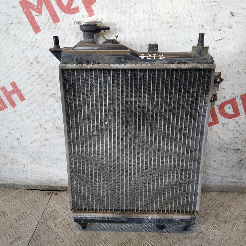 Радиатор основной Hyundai Getz 2008 (б/у)