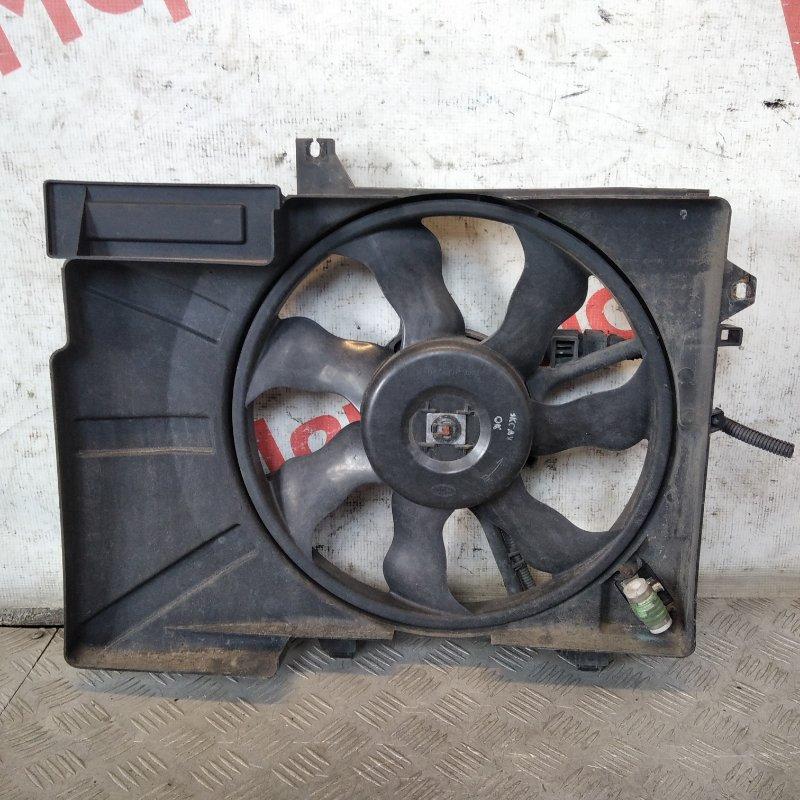 Вентилятор радиатора Hyundai Getz 1.4 2008 (б/у)