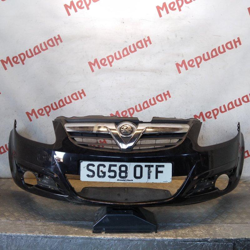 Бампер передний Opel Corsa D 2008 (б/у)