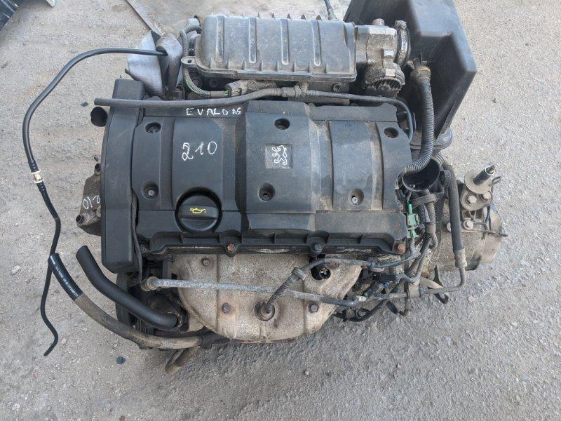 Двигатель nfu 10fx2k Peugeot Partner M59 1.6 2006 (б/у)