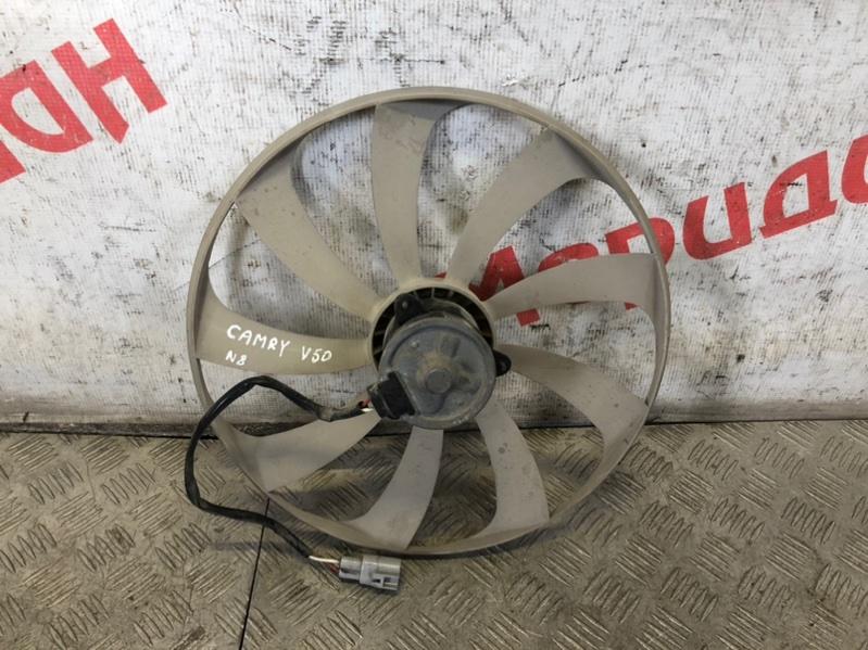Вентилятор радиатора кондиционера Toyota Camry V50 2014 (б/у)