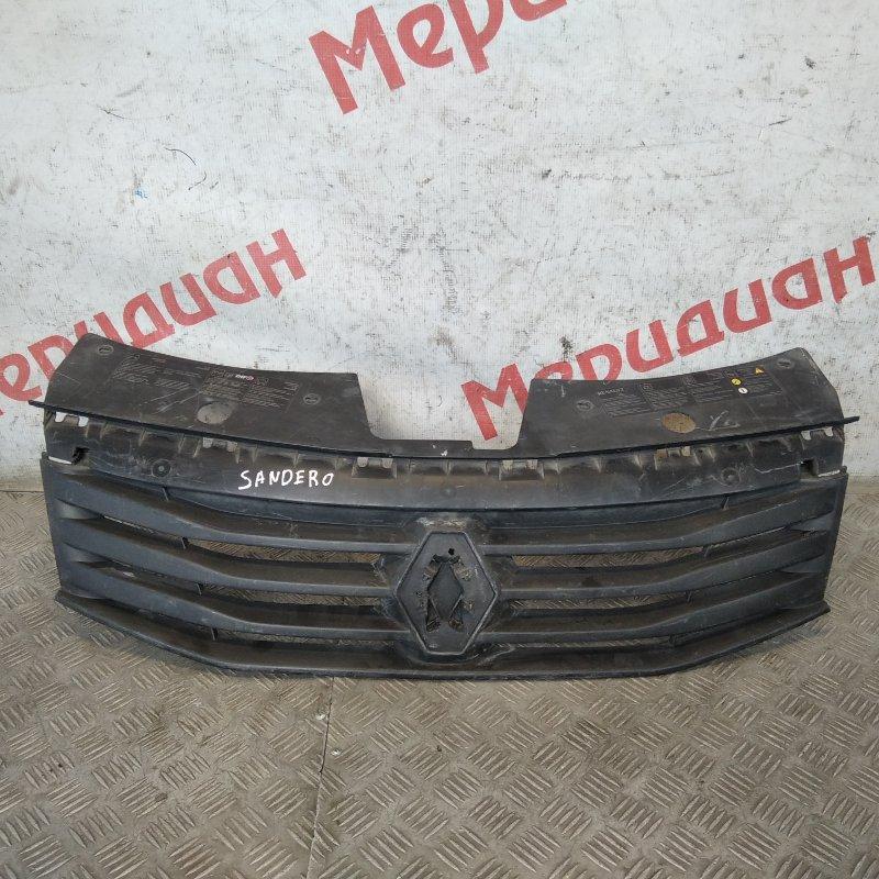 Решетка радиатора Renault Sandero 2010 (б/у)