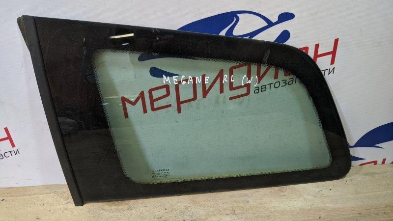Стекло кузовное глухое левое Renault Megane II 2006 (б/у)
