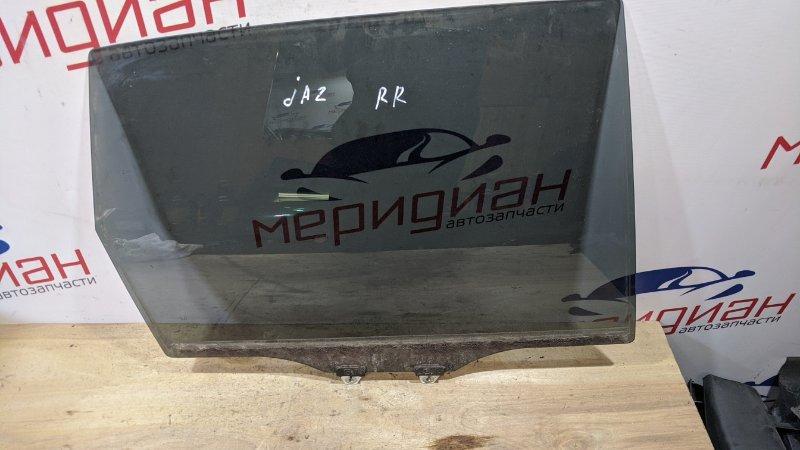 Стекло двери задней правой Honda Jazz GG 2009 (б/у)