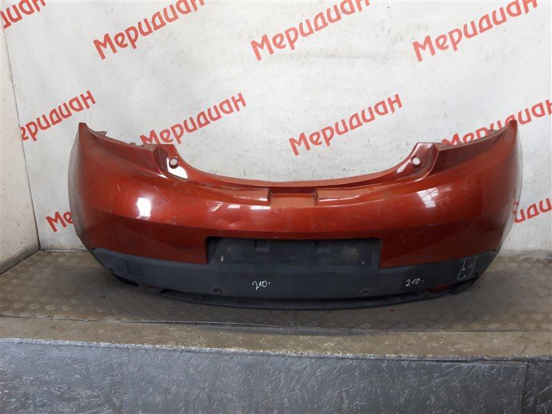 Бампер задний Renault Megane III 2010 (б/у)