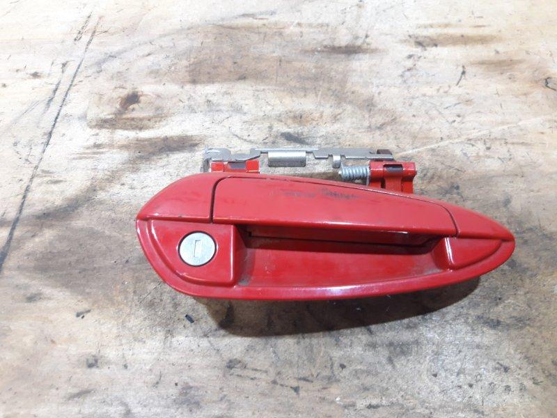 Ручка двери передней наружная левая Fiat Punto 199 2013 (б/у)
