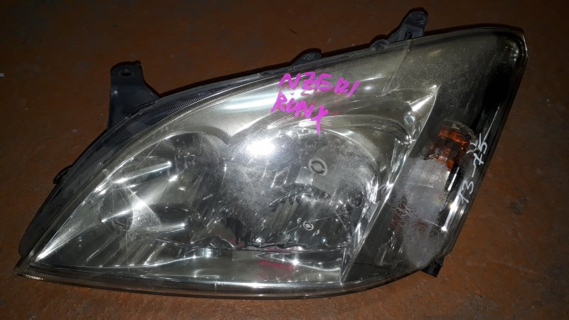 Фара TOYOTA Corolla Fielder NZE121 04г, №12-498 L