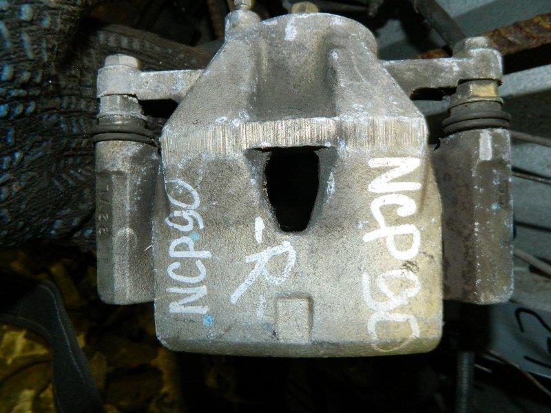 Суппорт Toyota Yaris NCP90 1KRFE передний правый (б/у)