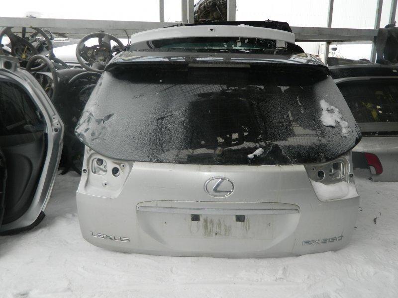Дверь 5-я Lexus Rx350 MCU35 2003 задняя (б/у)