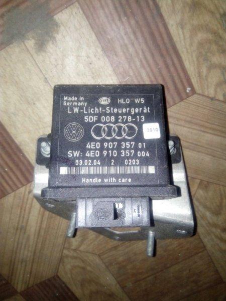 Блок управления освещением Audi A8 4E2 (б/у)