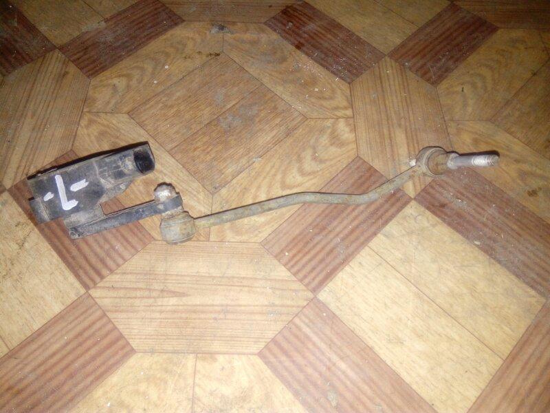 Датчик регулировки уровня пневмо-подвески Audi A8 4E2 левый (б/у)