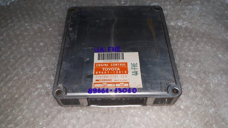 Блок управления двс Toyota Sprinter Carib AE95 4AFHE 1990 (б/у)