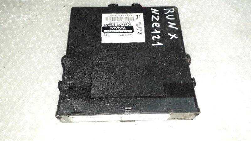 Блок управления двс Toyota Corolla Runx NZE121 1NZFE 2001 (б/у)