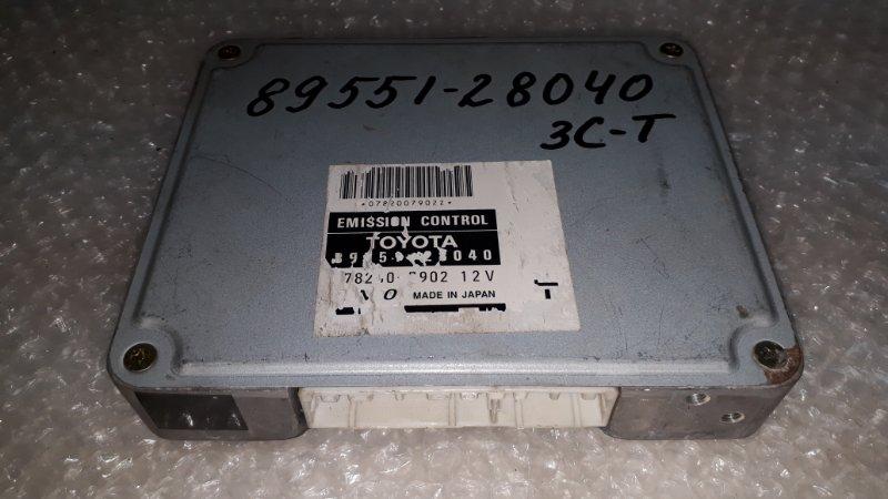 Блок управления двс Toyota Town Ace SR50 3CT 1996 (б/у)