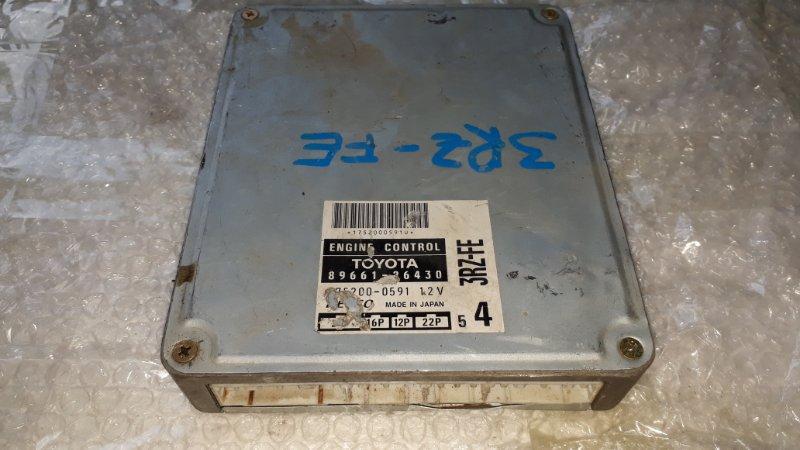 Блок управления двс Toyota Regius KCH40 3RZFE 1997 (б/у)