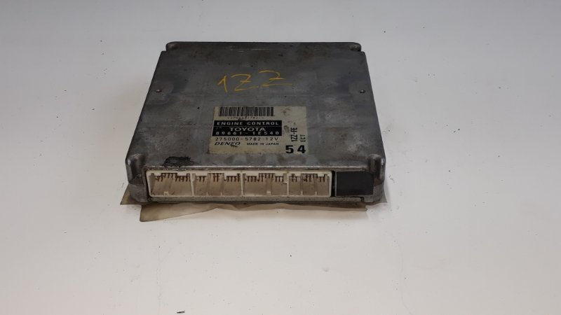Блок управления двс Toyota Fielder NZE121 1ZZFE 2000 (б/у)