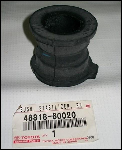 Втулка стабилизатора TOYOTA 4881860020
