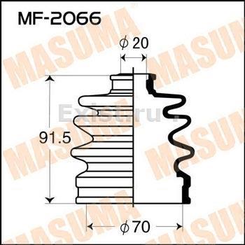 Пыльник ШРУСа наружный MAZDA (70X20X92)