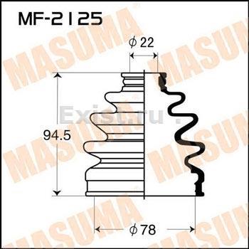 Пыльник ШРУСа наружный MAZDA (78X22X95)