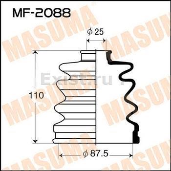 Пыльник ШРУСа наружный MITSUBISHI (88X25X110)