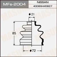 Пыльник ШРУСа наружный NISSAN (72X21X85)