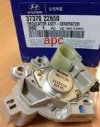 Реле-регулятор генератора HYUNDAI 3 Verna/Elantra/Accent/Getz, Kia Carens/Cerato/Sportage/Rio 02>