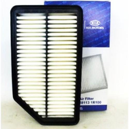 Фильтр воздушный Hyundai Solaris 1.4/1.6 10>, Kia Rio 1.1-1.4 11>