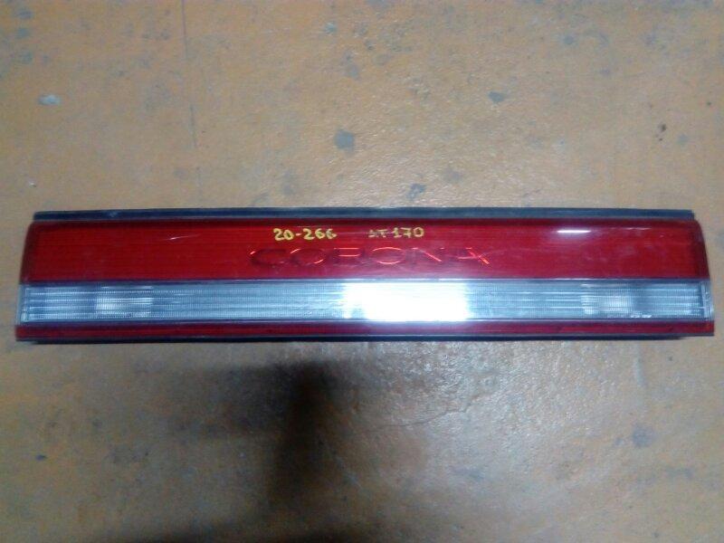 Фальшпанель (вставка в багажник) Toyota Corona CT170 задний (б/у)
