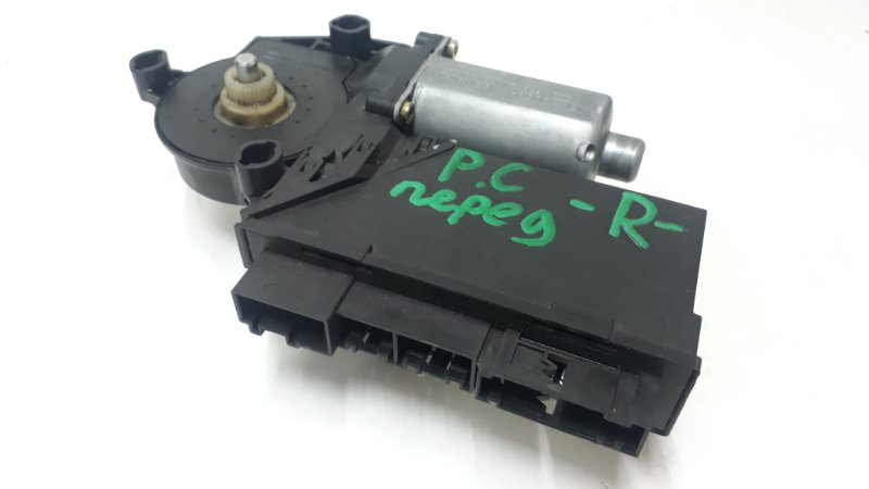 Мотор стеклоподъемника Porsche Cayenne 955 2003 передний правый (б/у)
