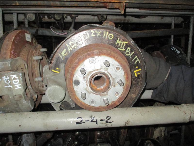 Ступица Toyota Mark Ii Blit GX110 задняя левая (б/у)
