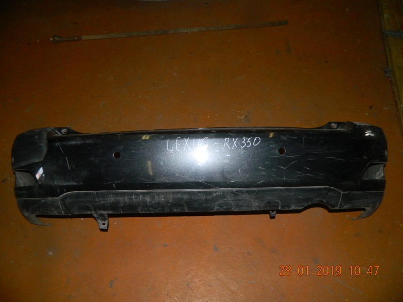 Бампер Lexus Rx350 MCU38 задний (б/у)
