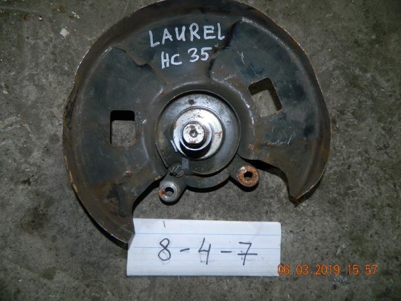 Ступица Nissan Laurel A31 передняя левая (б/у)